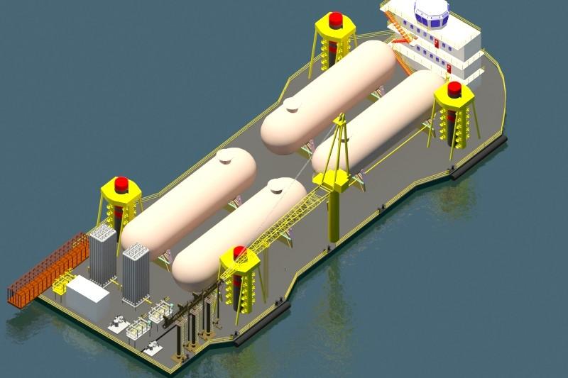 JU SRT-LNG Regasification Terminal
